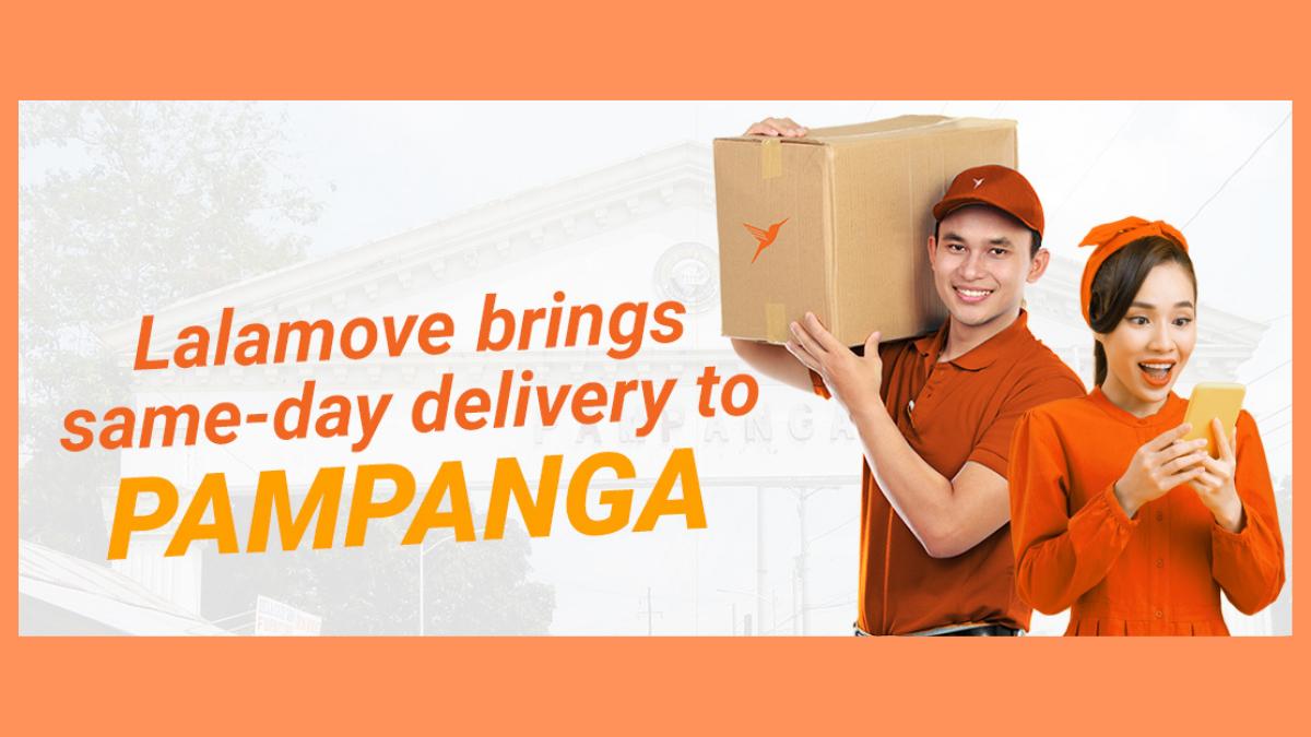 Lalamove brings same-day delivery to Pampanga