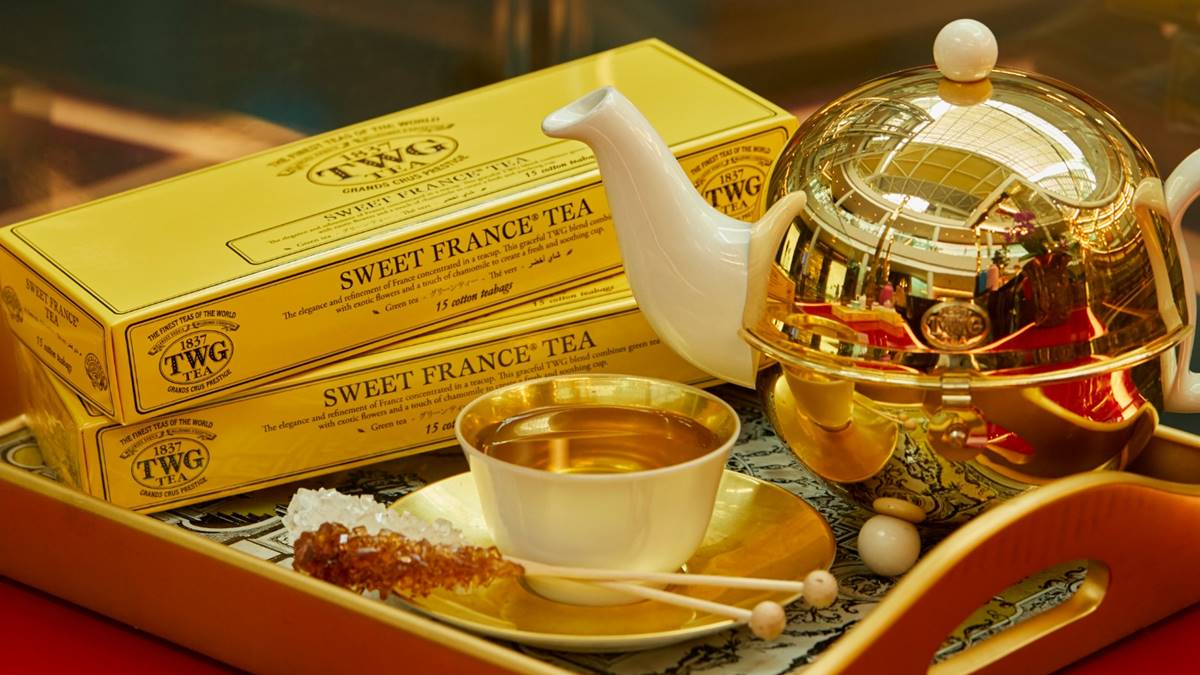 Give the Gift of TWG Tea This Valentine's Day