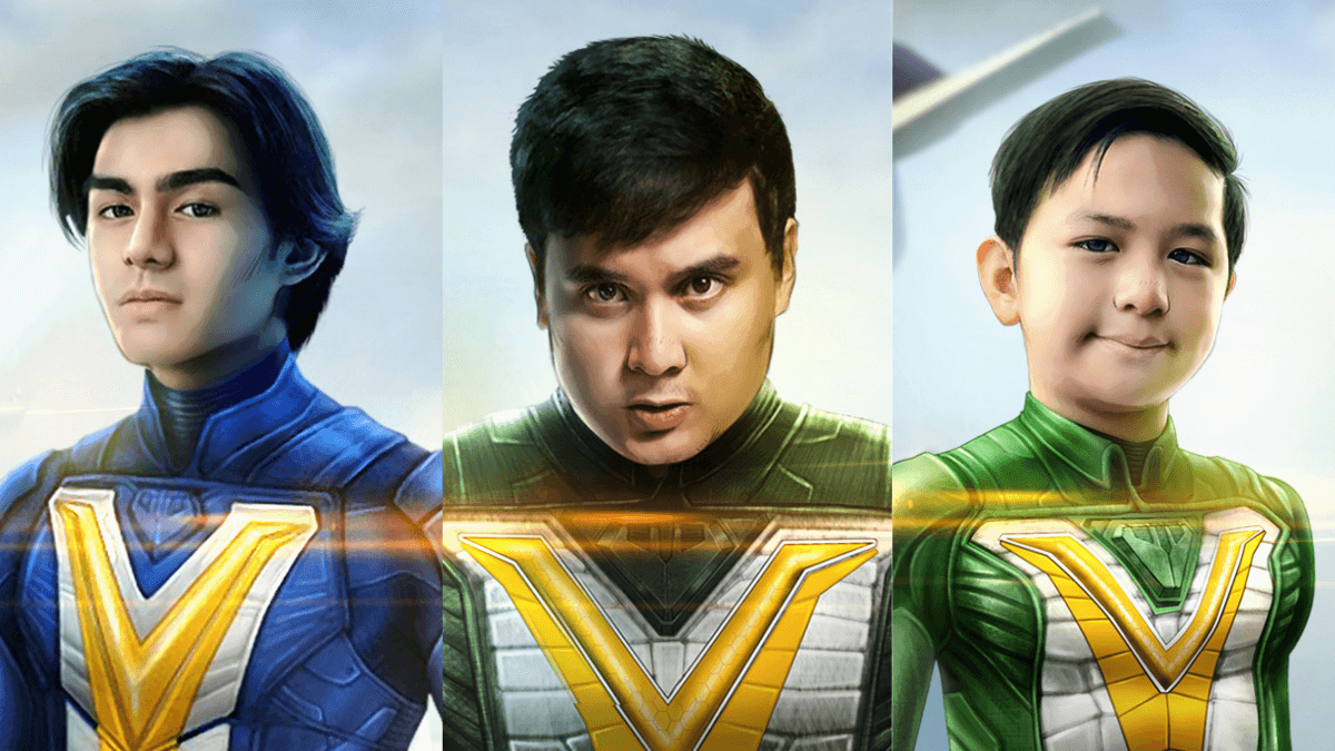 GMA Unmasks 'Voltes V: Legacy' Actors Playing Mark, Big Bert, and Little Jon