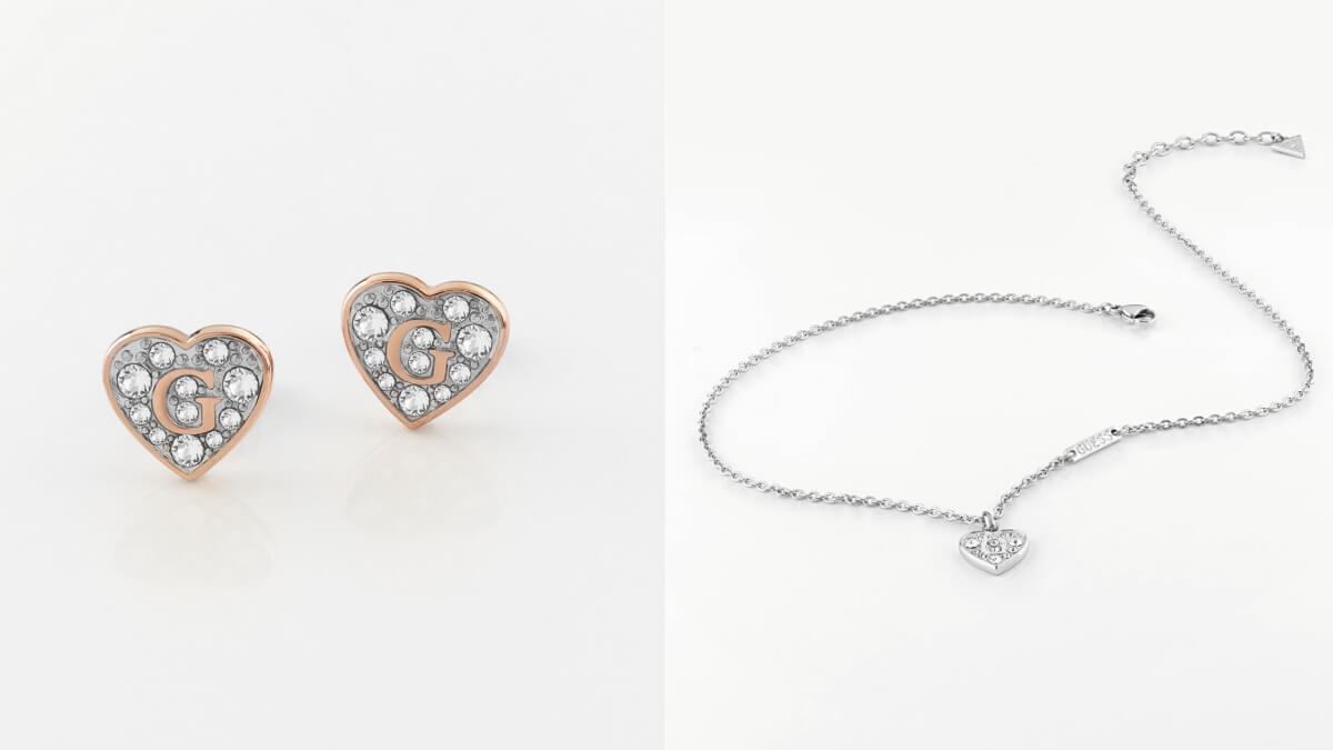 Celebrate Valentine's Day with This Luxe Jewelry Collection From GUESS
