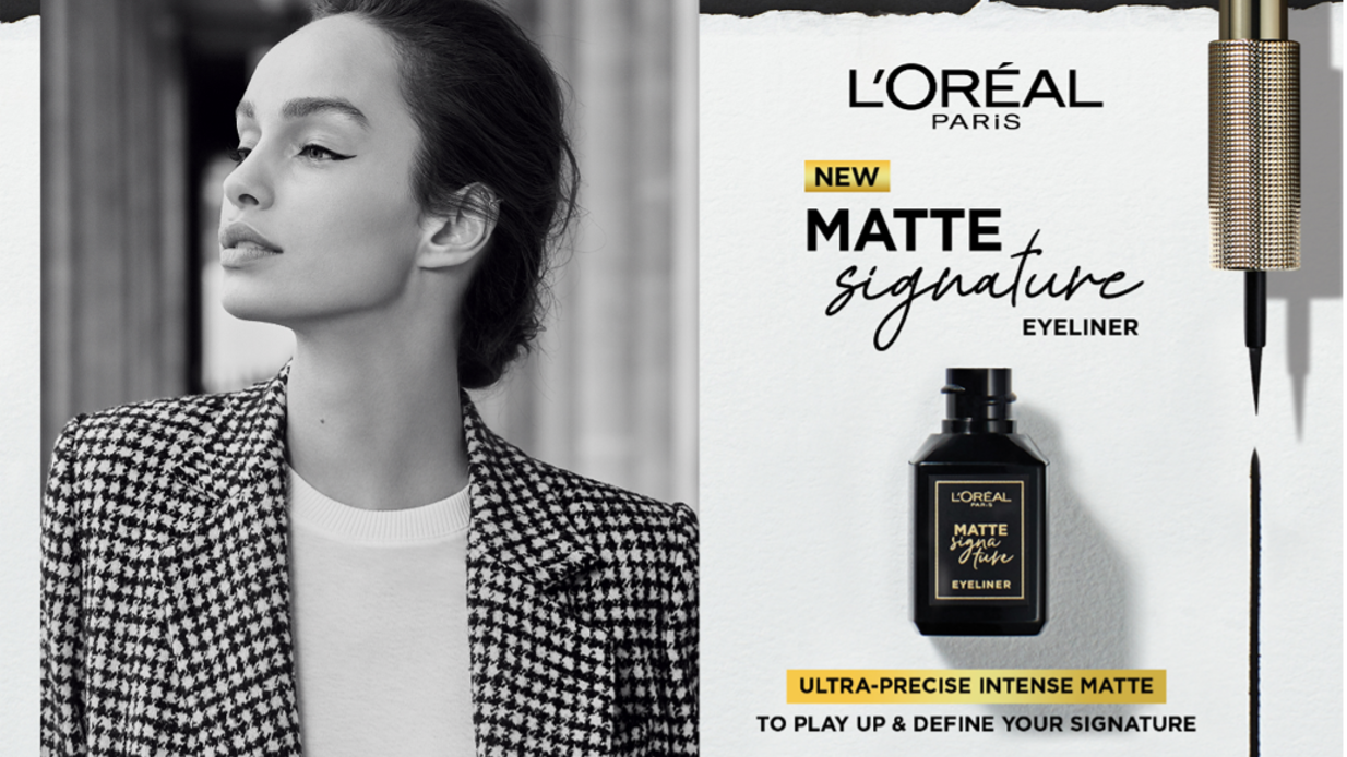 L'Oreal Paris Matte Signature Eyeliner Lets You Own and Define Your Look