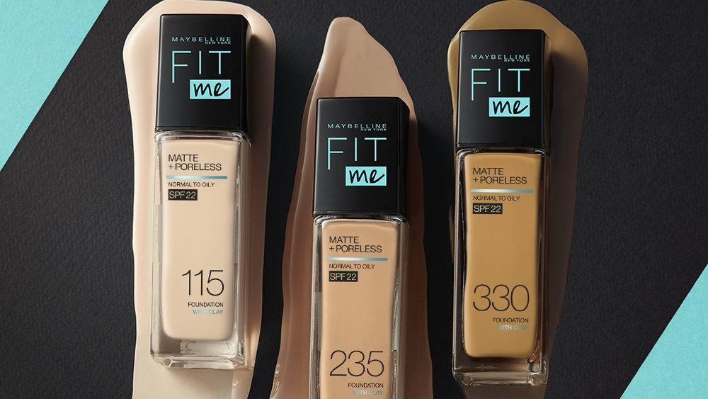 Maybelline New York Kicks Off  2021 with the New Fit Me Matte + Poreless Liquid Foundation