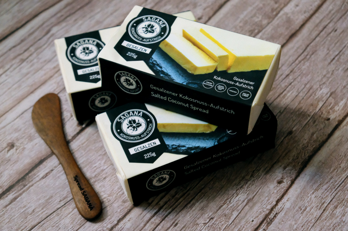 Sagana: A Butter That's Plant-Based, Dairy-Free, and Proudly Philippine Made