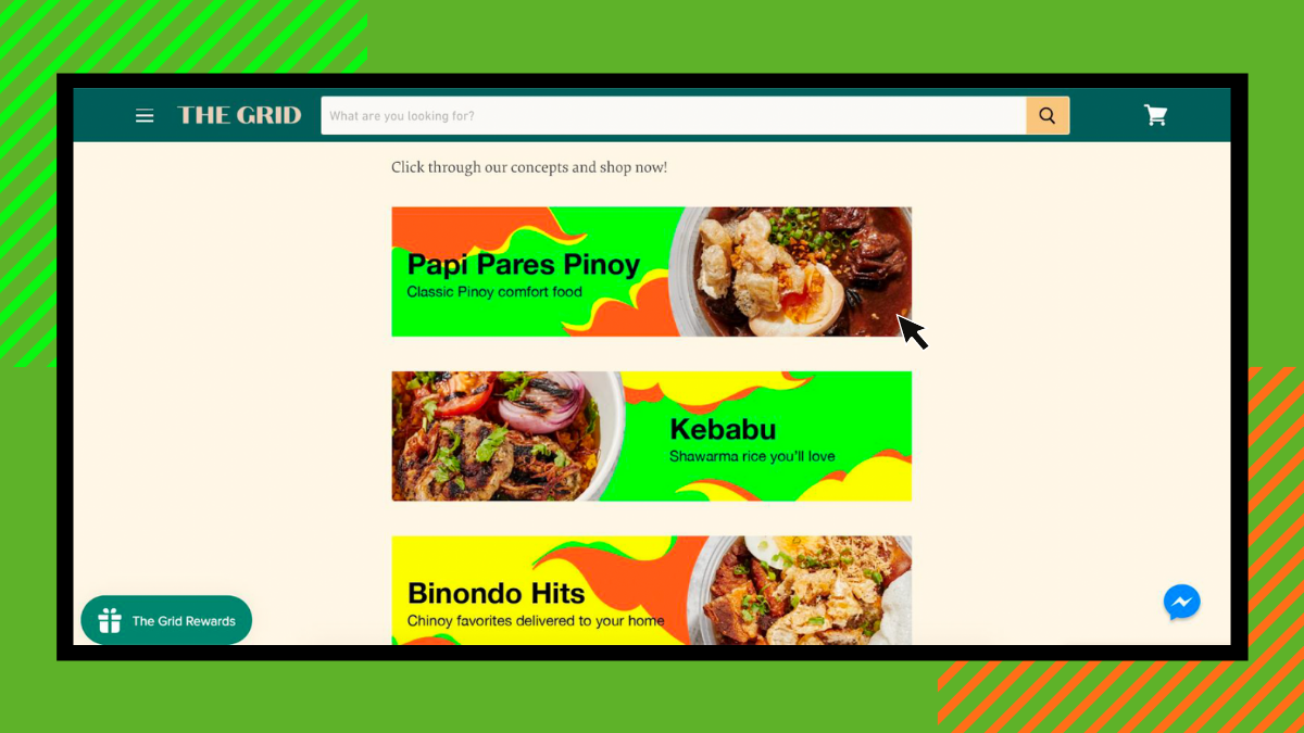 Off-Grid Virtual Food Hall Launches Delivery Website