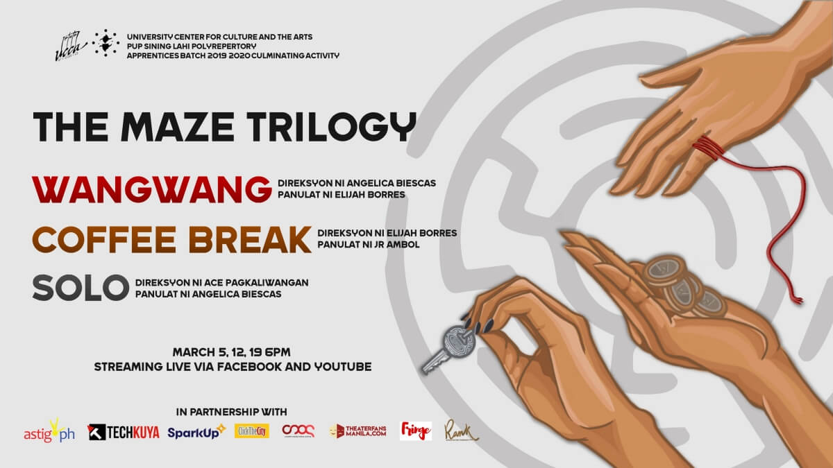 Sining-Lahi Polyrepertory to Stream 'The Maze Trilogy' for Free This March