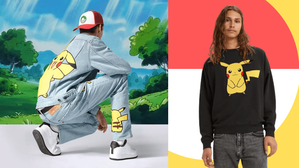A Levi's x Pokémon Apparel Collection Appeared! Here's How to Catch 'Em All