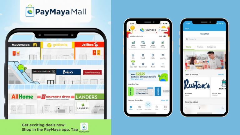 PayMaya Launches Maya Mall