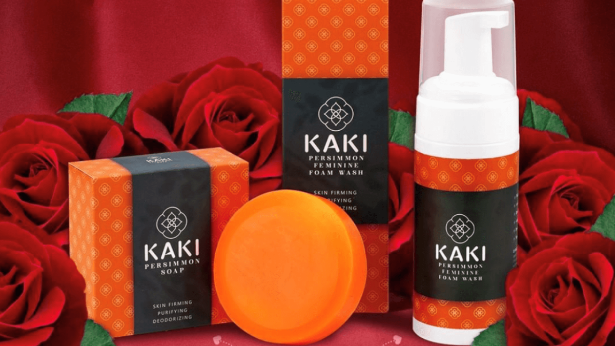 The New KAKI Persimmon Soap Empowers Graceful Ageing