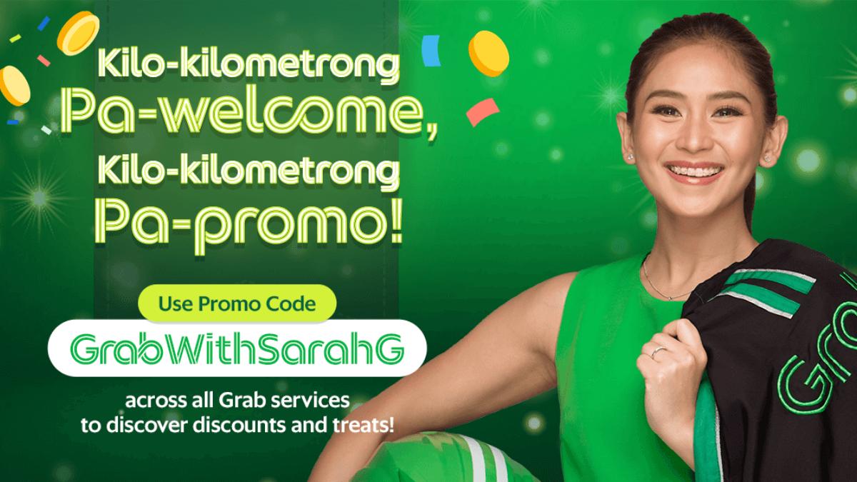 Grab Welcomes Their New Brand Ambassador, Sarah Geronimo