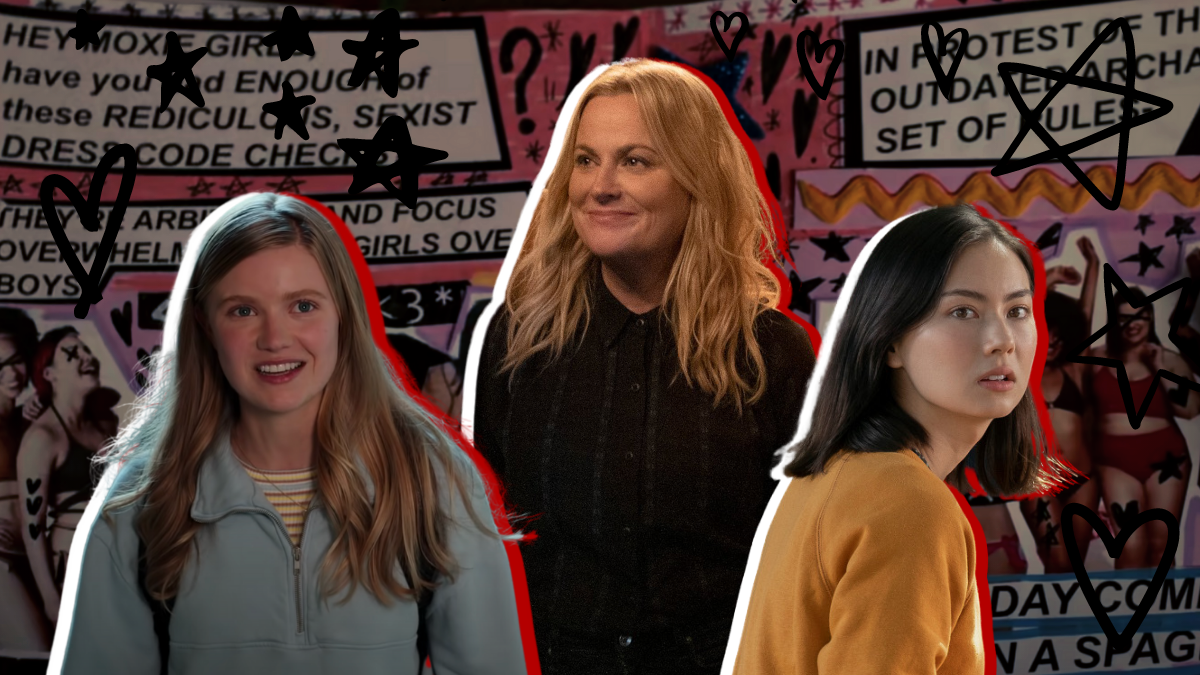What's Your Moxie?: An Interview with Director Amy Poehler and 'Moxie' Stars Hadley Robinson and Lauren Tsai