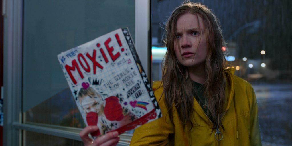 Hadley Robinson as Vivian in Moxie