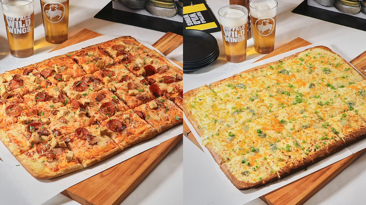 Buffalo Wild Wings' Football Field Pizza is the Perfect Comfort Dish for the Family