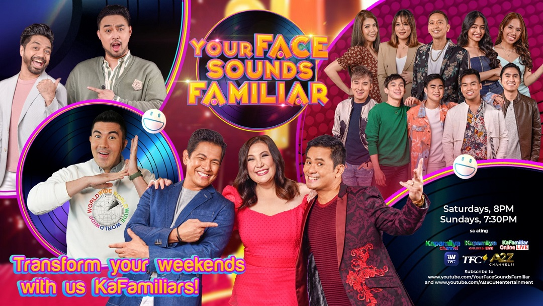 ABS-CBN's 'Your Face Sounds Familiar' Returns For Season 3 on Kapamilya Channel and A2Z Channel 11