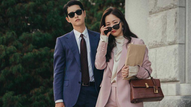 Song Joong Ki and Jeon Yeo Bin in Vincenzo