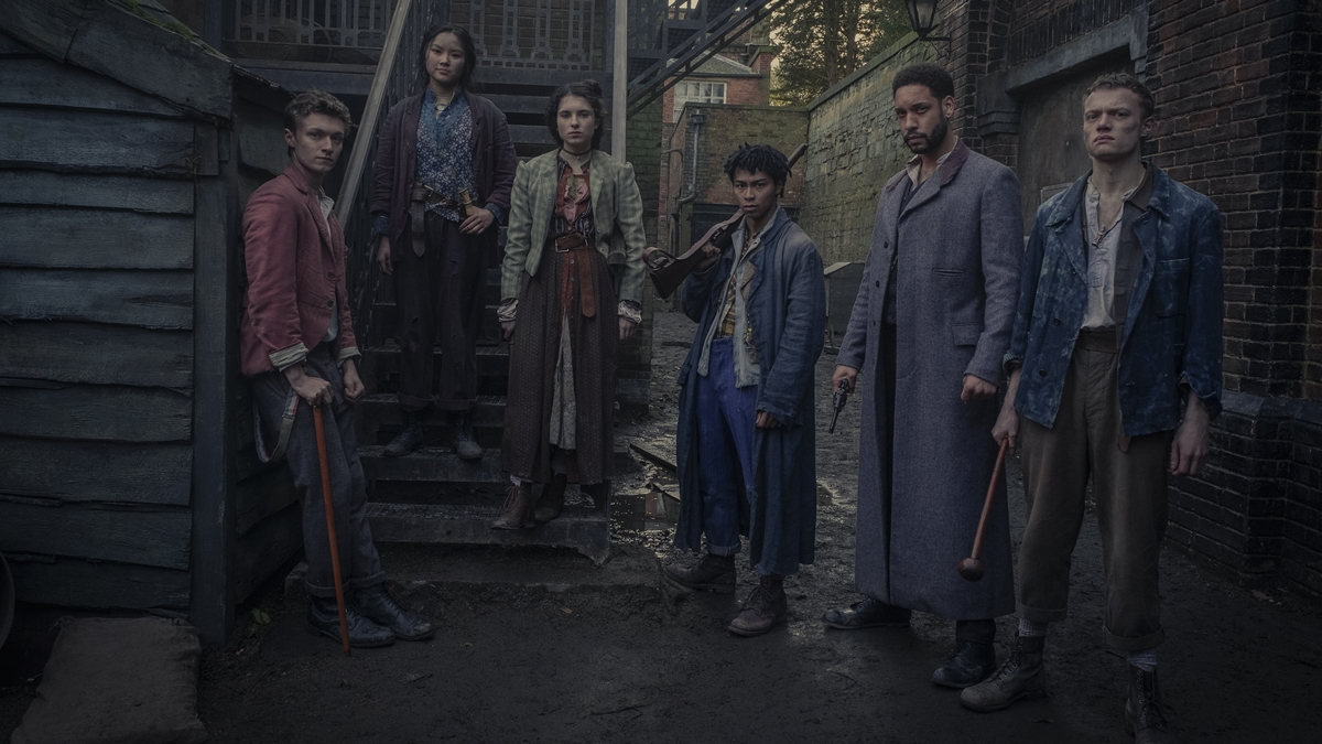 FIRST LOOK: 'The Irregulars' Gives a Supernatural Take on Sherlock Holmes' Story