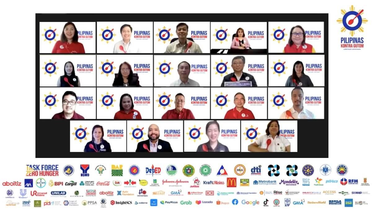 Government & Private Sectors Unite for 'Pilipinas Kontra Gutom' Movement