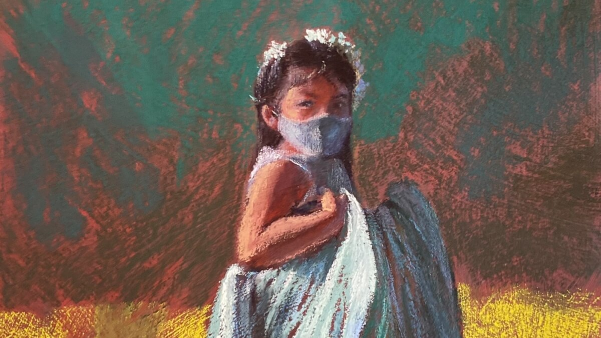 Celeste Lecaroz to Showcase Pastel Paintings on 'Blue Skies, Crimson Wind' This March
