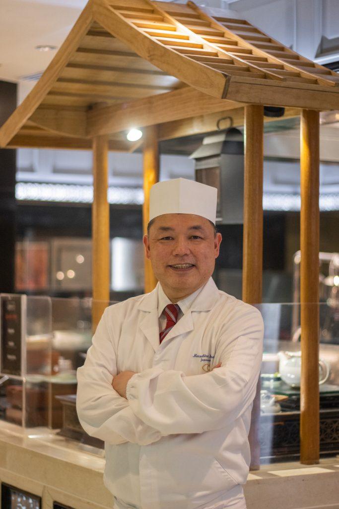 Japanese Master Chef Masahiro Mizumoto - Spiral Manila