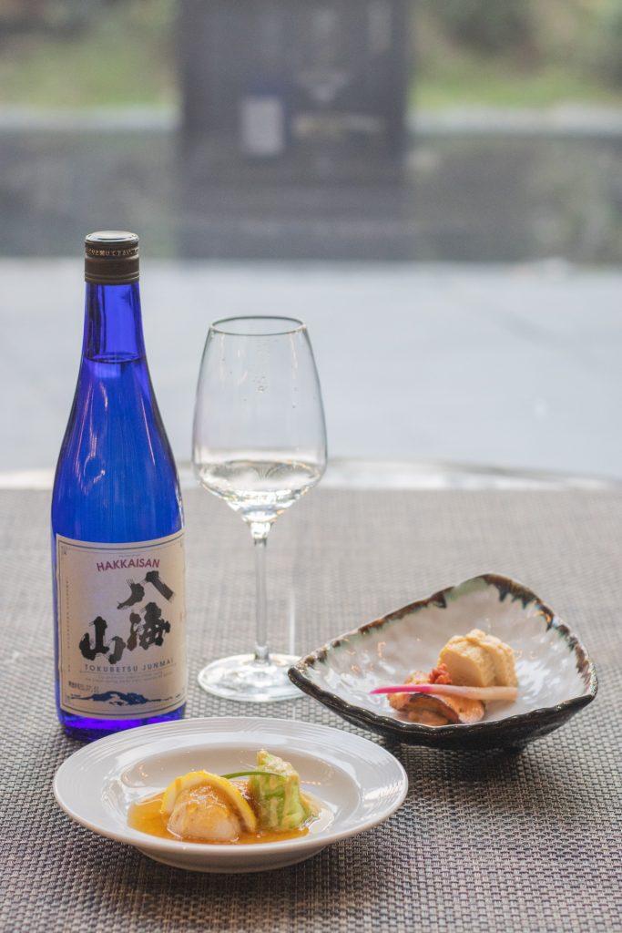 Japanese Sake Dinner Menu - Spiral
