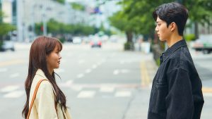 Love Alarm Kim So Hyun and Song Kang