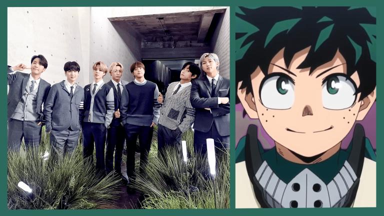 Online News Roundup: BTS and My Hero Academia