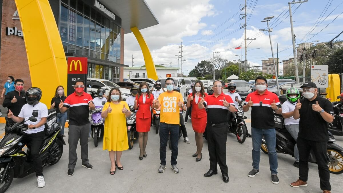 Read more about the article AirAsia's Teleport Teams Up with McDonald's for Timely and Fast-moving Deliveries