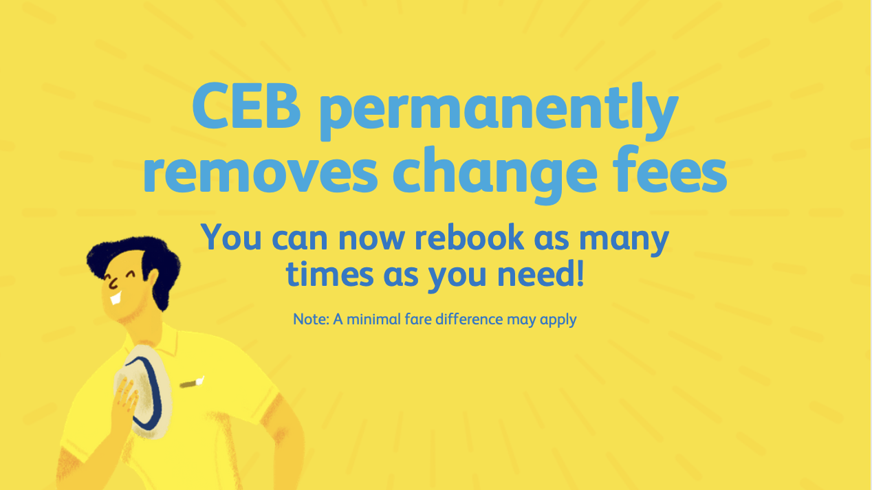 Read more about the article Cebu Pacific Announces Permanent Removal of Change Fees