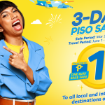 Cebu Pacific Brings Back Its PISO Sale From March 3 to 5