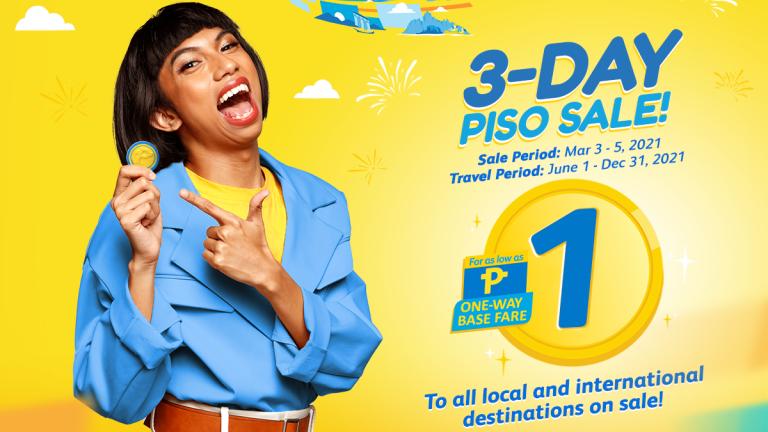 Cebu Pacific Piso Sale