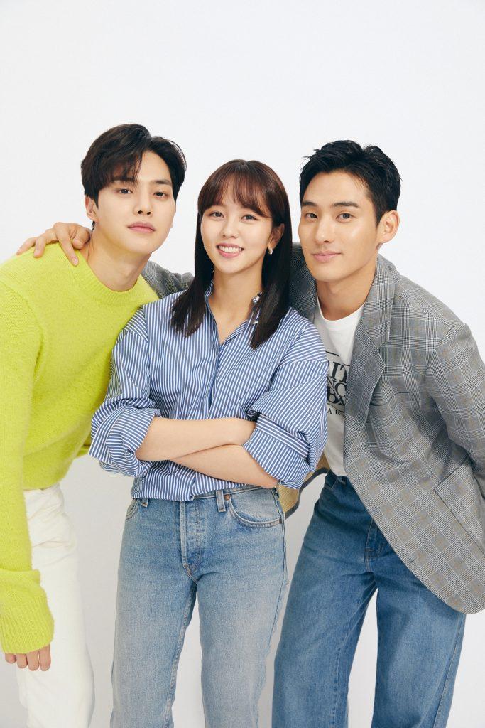 Song Kang, Kim So Hyun, and Lee Hye Yeong