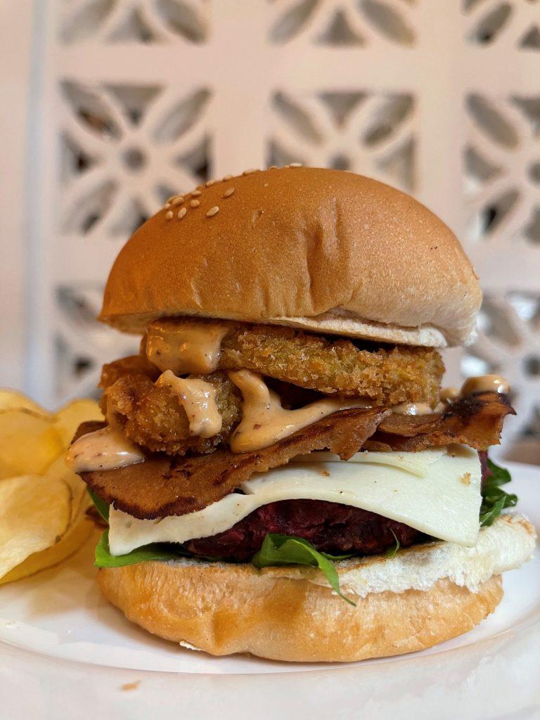 Veggie Burger - Green Bar