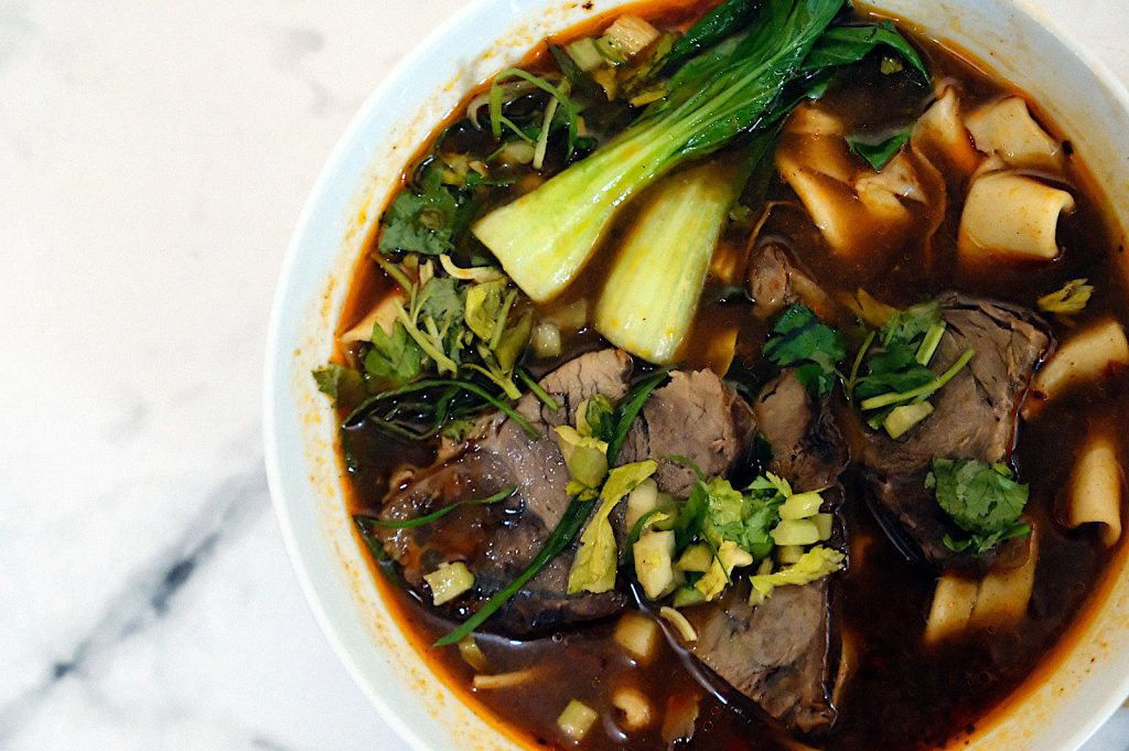 Taiwanese Beef Noodle Soup biang biang by Pilya's Kitchen