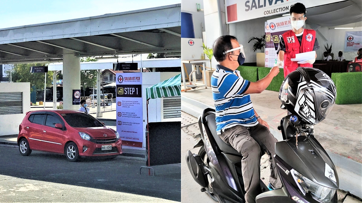 SM Supermalls Opens Saliva RT-PCR Test Drive-Thru Collection Sites