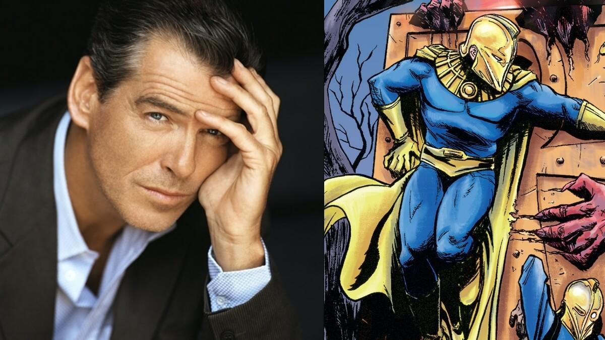 Pierce Brosnan is Doctor Fate in DC's 'Black Adam' Film