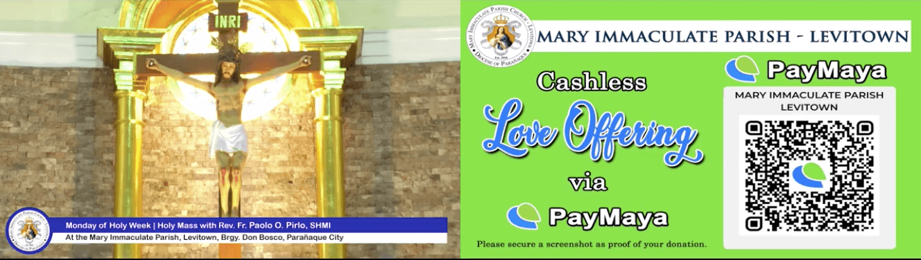 Churches bring 'Visita Iglesia' online, accept donations with PayMaya
