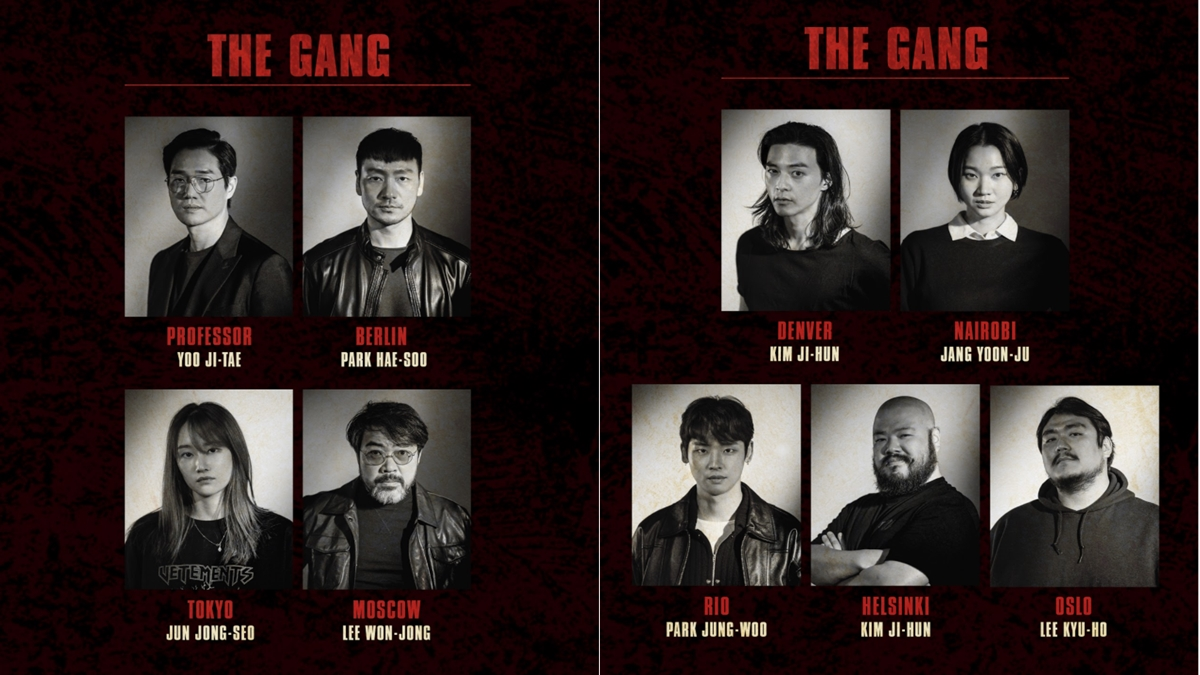 Meet the Cast of the K-Drama Adaptation of 'La Casa De Papel'