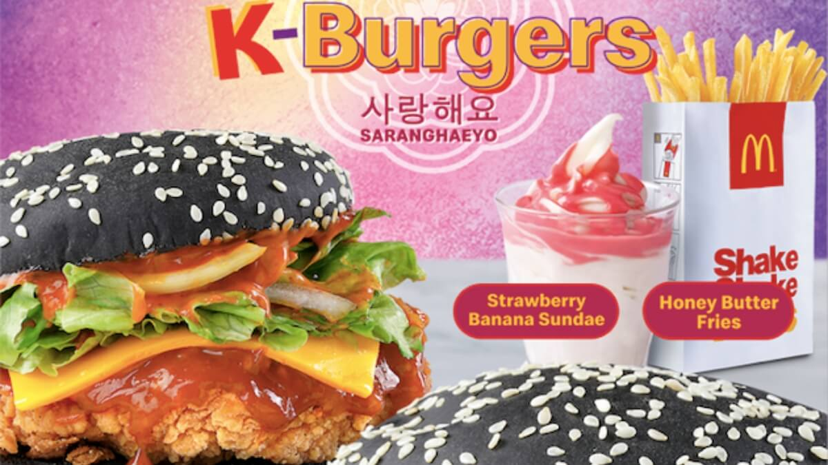 McDonald's Brings You a Taste of Korea with Their New K-Burgers!