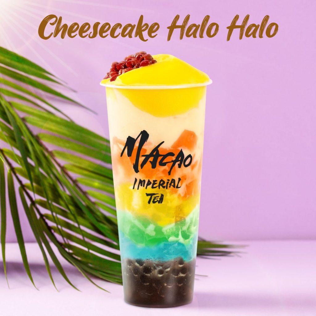 Macao Imperial Tea - Cheesecake Halo Halo