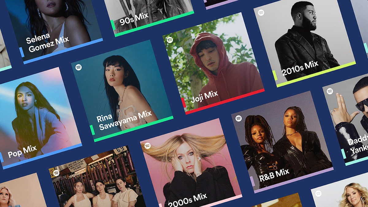 Spotify Mixes Give Users Three New Personalized Mixes of Songs and Genres They Love Listening To