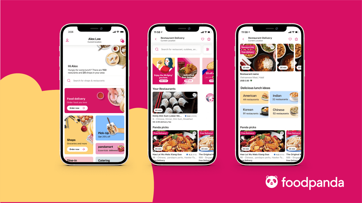 Check Out foodpanda's Fun & Colorful New Look