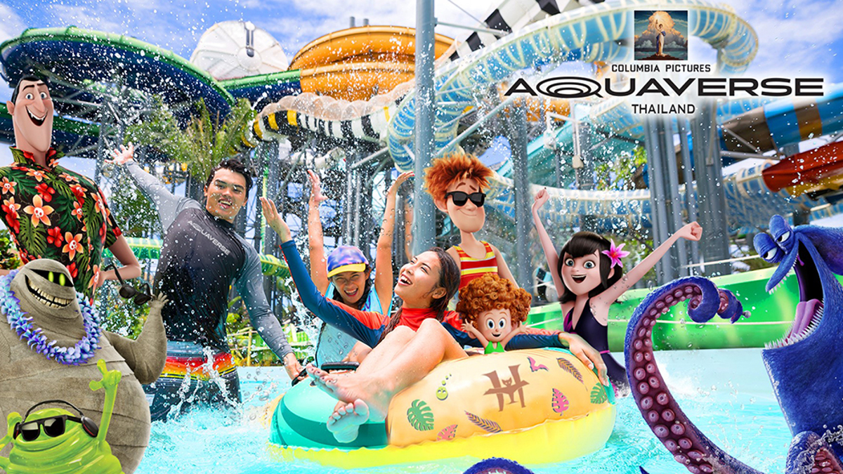 Columbia Pictures to Open its First Theme and Waterpark in Thailand!