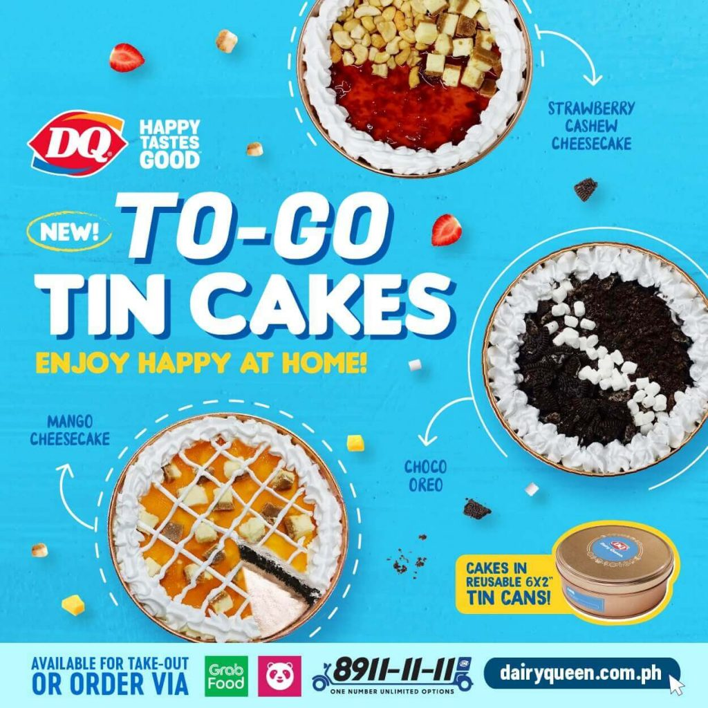 Dairy Queen launches To-Go Tin Cakes