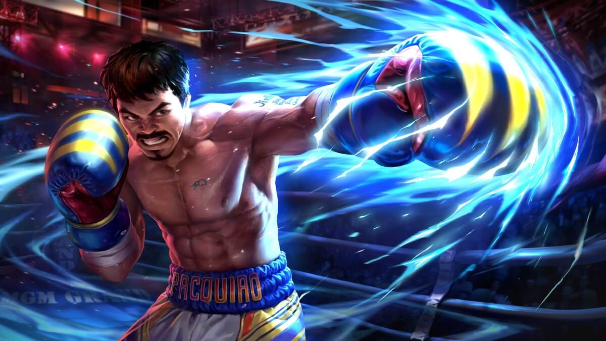 Manny Pacquiao Becomes a Hero Skin in 'Mobile Legends: Bang Bang'
