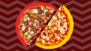 PizzaExpress Asian Pizzas