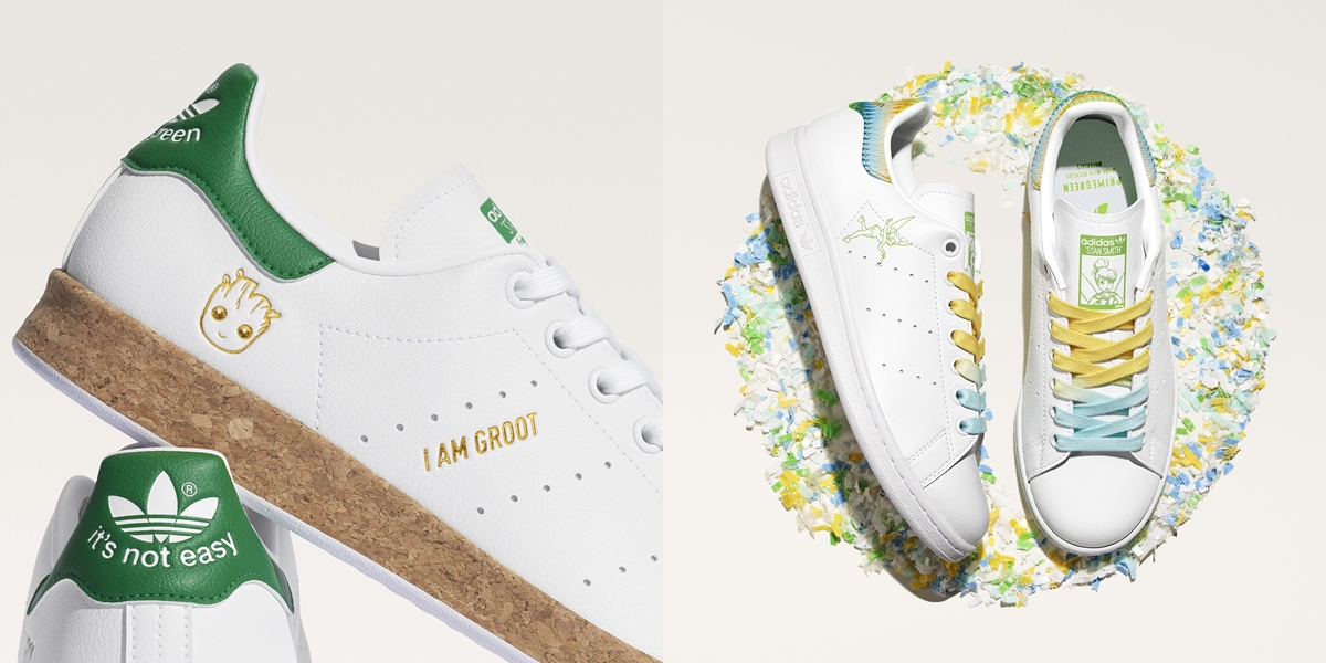 adidas Joins the Journey to End Plastic Waste With the Reimagination of their Stan Smith