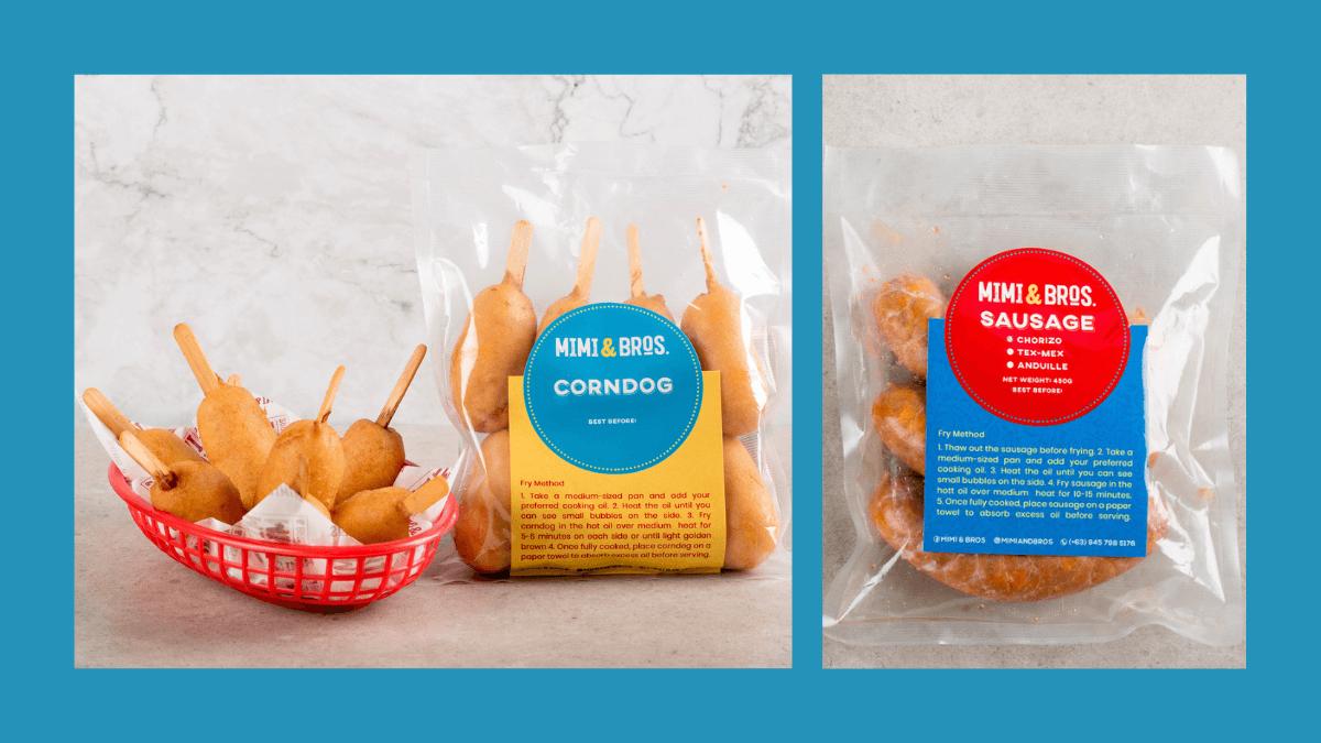 Mimi & Bros Launches Comfort Frozen Food Line