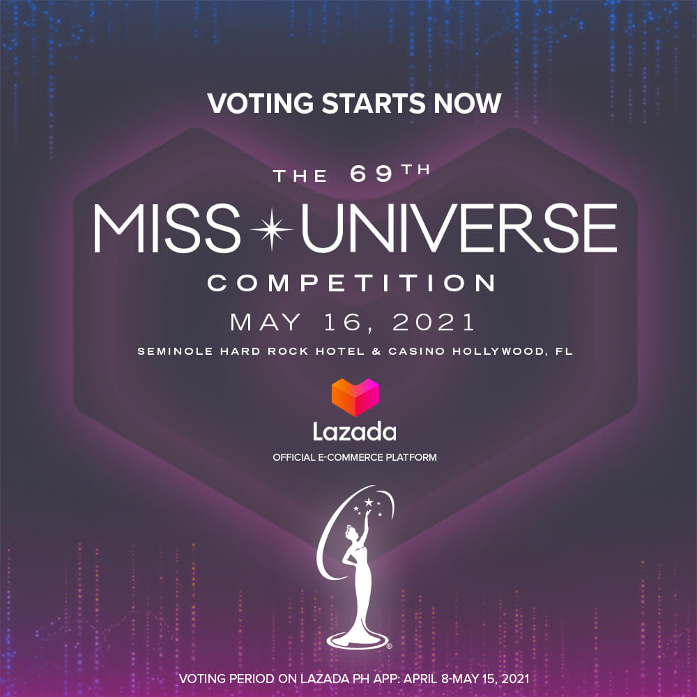 Here's How to Use Lazada to Vote for the 69th Miss Universe Competition