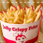 For the French Fries Fan, Jollibee Now Offers a Crispy Fries Bucket!