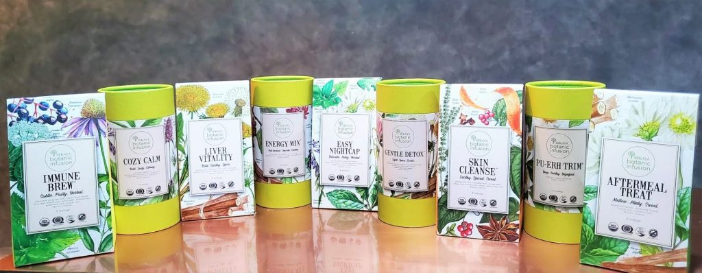 The curated range of Sekaya Botanic Infusion now comes in eco-friendly teabags