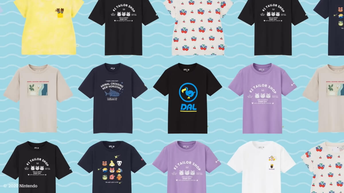 UNIQLO will Release an 'Animal Crossing: New Horizons' Collection